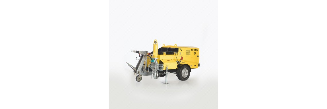 Pistonlu Sıva Makinası - ASE HSP EM