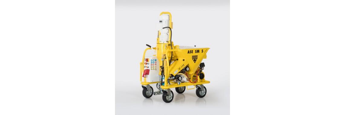 Alçı Sıva Makinası - ASE SM 5 Premium