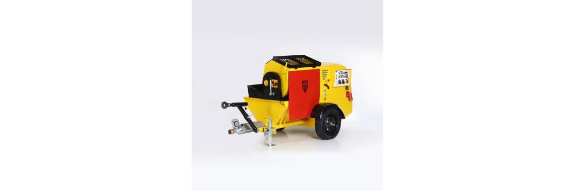 Klasik Kara Sıva Makinası - ASE VP 500 TMK